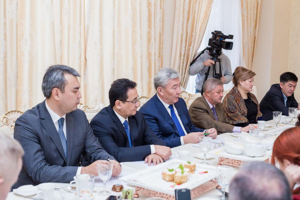 встреча с послом РК